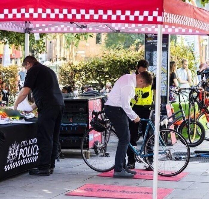 Bike Security Marking Roadshows