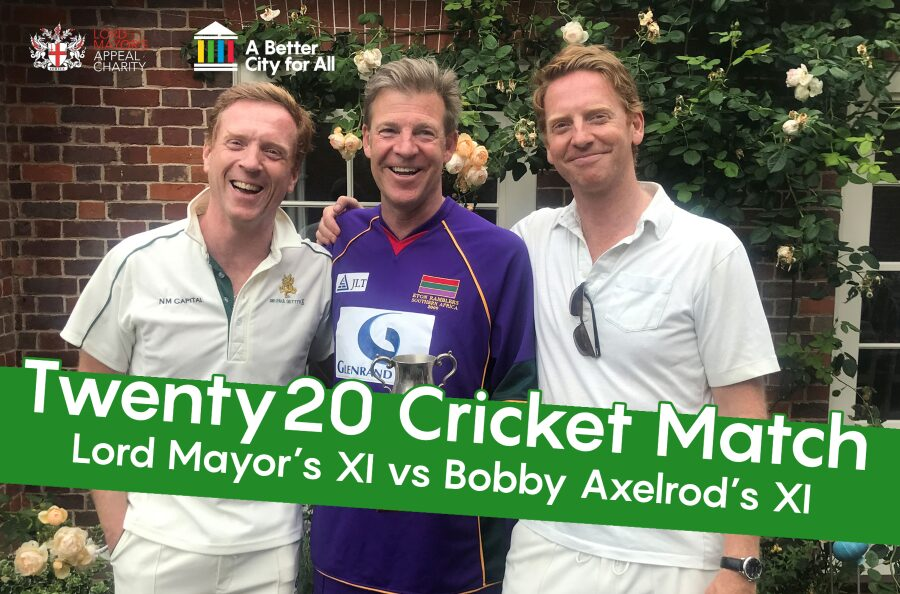 Come and watch the Lord Mayor's Twenty20 cricket match
