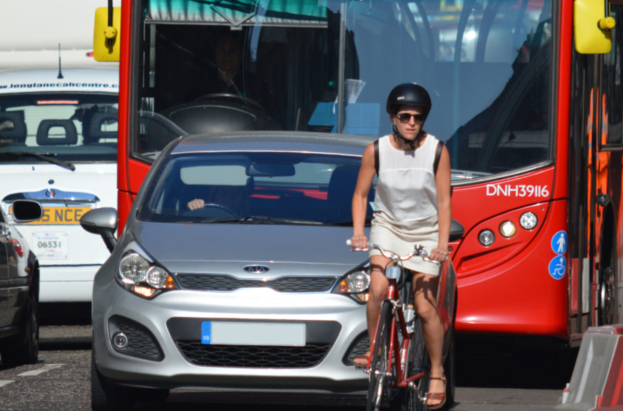 Worried about cycling in London?